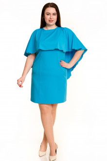 Платье 546 Luxury Plus (Голубой)