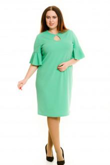 Платье 593 Luxury Plus (Зеленый)