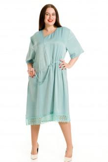 Платье 712 Luxury Plus (Голубой)
