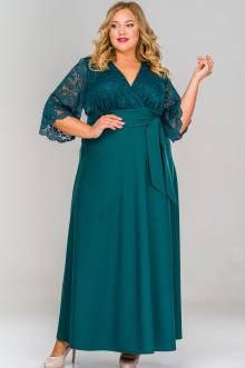 Платье 158103 ЛаТэ (Изумрудный)