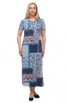 "Платье ""Олси"" 1705043/2 ОЛСИ (Голубой)"