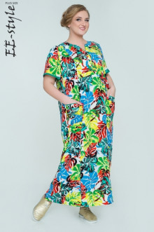 """Платье """"Её-стиль"""" 2032 ЕЁ-стиль (Зелёный)"""