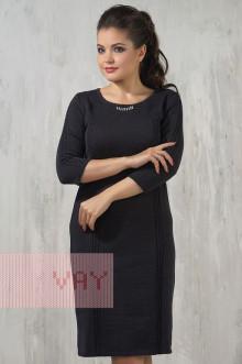 Платье женское 2228 Фемина (Мокрый асфальт)